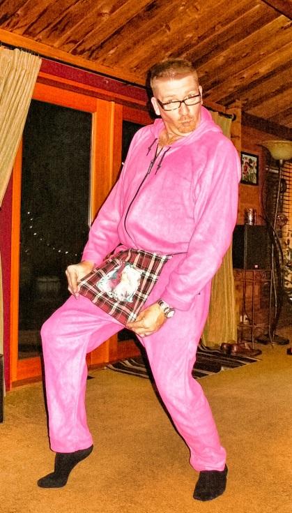 Rockin Pink Onesie 002-01
