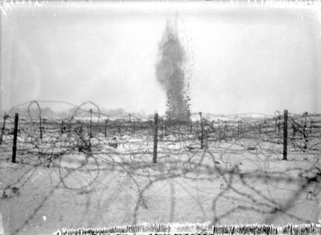 Shell Burst Beaumont Hamel