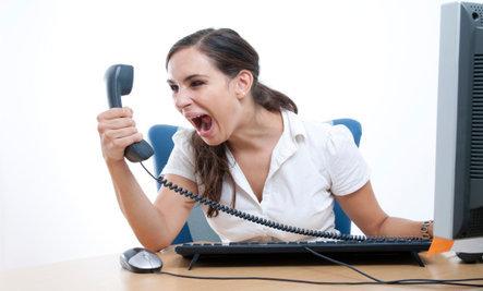 Scream at Phone