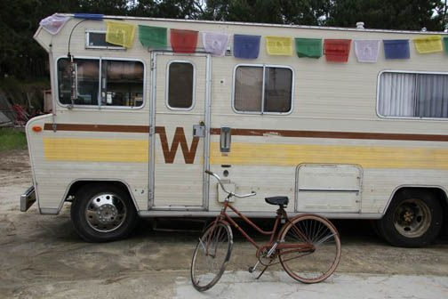 Winnebago with Bike